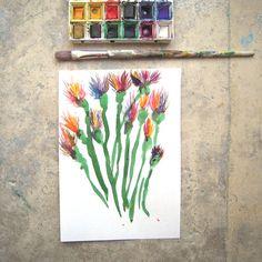 Wild Flowers F.Zakka