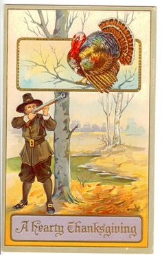 A Hearty Thanksgiving Vintage Thanksgiving Postcard | Flickr - Photo Sharing!