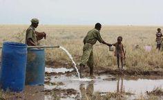 Gisement d'eau au Kenya