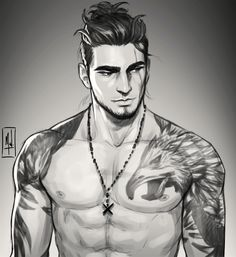 by viantar. on - Gladiolus by viantar. on -Gladiolus by viantar. on - Class: Monk Race: Human Name: Arnold Decker Fantasy Character Design, Character Drawing, Character Design Inspiration, Character Concept, Dnd Characters, Fantasy Characters, Fictional Characters, Fantasy Girl, Fantasy Men