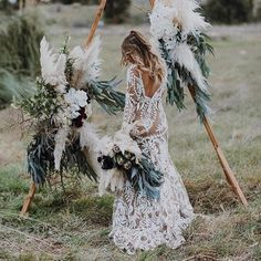 For all you boho festival brides! @bellebridalmagazine Digging the vibe..#freespirited #bohostyle #brides #bellebridalmagazine #vibes #igers #wedding #bridalstyle via @hamptoneventhire #bridalgown