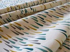 Kirin & Co is the online shop of designer and textile artist Lara Cameron of Melbourne, Australia. Cameron produces limited edition, hand screen printed fabrics