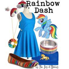 Rainbow Dash (My Little Pony) - Polyvore