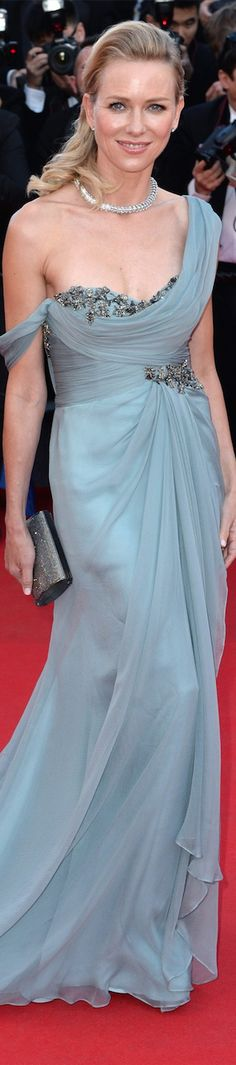Naomi Watts in Marchesa at the Cannes Film Festival 2014
