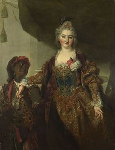 Портрет работы Николя де Ларжильера. 1721-1722 год