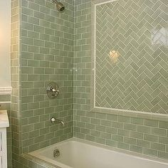 glazed-subway-tile-backsplash - Design, decor, photos, pictures ...