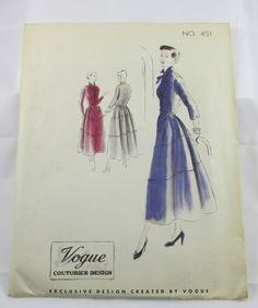 VCD 451 Dress 1048 Sz14 Very Good c/c Marshall Field & Company receipt inside dated 1948 sld 16.49+3.39 3bds 3/5/17