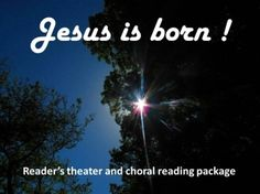Package: free Christmas reader's theater and choral readings
