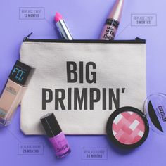 It's that time again. Know when to swap your makeup out, and keep your #PrimpGame on point.