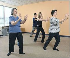 Simple Exercises can Prevent Falls in Elderly...study proving the effectiveness of OT programming