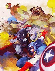 avengers_by_dnz85-d4i8lro
