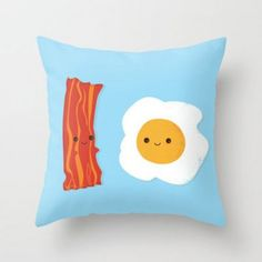 10 Throw Pillows to Show Off Your Love of Beer, Bacon and More #FWx