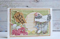 Cards made by Wybrich: Tok tok een ei Marianne Design, Frame, Card Ideas, Scrapbooking, Animals, Decor, Cards, Animales, Dekoration