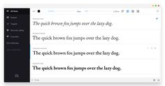 FontBase — a blazing fast, beautiful and free font manager for Windows.