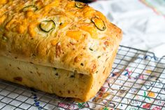 Jalapeño 3-Cheese Bread from @bakeat350 @thepioneerwoman