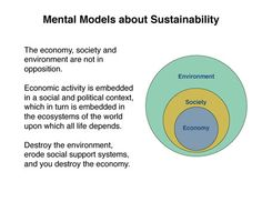 """""""the fundamental alignment of healthy organizations, healthy environments, healthy societies and economies that meet human needs."""""""
