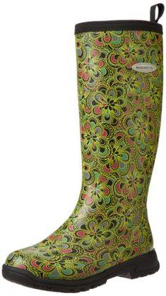 MuckBoots Women's Breezy Tall Rain Boot,Green Flower Print,5 M US Muck Boot http://www.amazon.com/dp/B00BN61KMM/ref=cm_sw_r_pi_dp_WuXCub16WGK0S