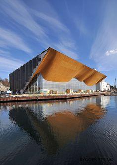 Kilden Performing Arts Centre;  Kristiansand, Norway