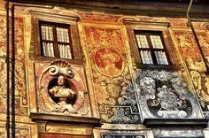 Detalle fachada del Palazzo della Carovana (Pisa - Italy)