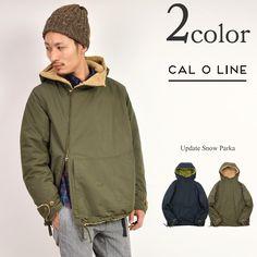 「CAL O LINE (キャルオーライン) アップデート スノーパーカー / 裏ボアフードジャケット ミリタリー / メンズ / 日本製 / UPDATE SNOW PARKA / CL162-078」の通販・購入ページ