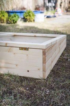 Hochbeet Mit Optionaler Abdeckung Zum Einsatz Als Fruhbeet Holz
