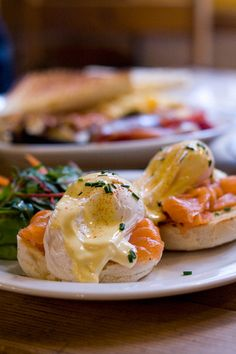Eggs Royale ~ a benedict with salmon