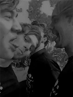 I THOUGHT CALUM AND LUKES TONGUES TOUCHED FOR A MOMENT AND I SCREAMED CAKE AND ME MUM IS SO CONFUSED LMAO