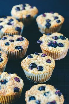 those ripe, juicy and just a bit tangy blueberries; I am moved to share my quick, simple and delectable Crisp Vegan Blueberry Muffins recipe.