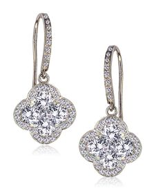 Stud Earrings Box Gift SFJS32 Matching Bracelet AAA Quality Cubic Zircon Jewellery Necklace /& Earring Set