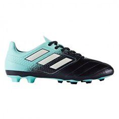 Adidas Ace 17.4 FxG S77097 voetbalschoenen junior energy aqua white legend ink