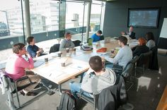 Sunny boardroom in Irish Times AIB Start Up Academy Irish Times, Gallery, Day, Roof Rack
