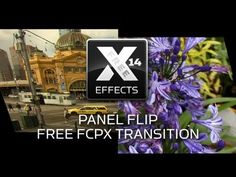 Free Panel Flip FCPX Transition Plugin