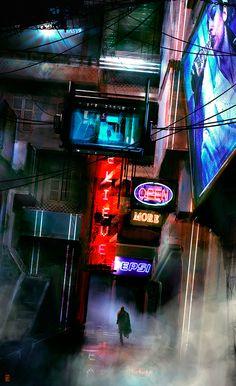 Dark Future, Cyberpunk, Brutalismo, Rascacielos y otras obsesiones. - ForoCoches