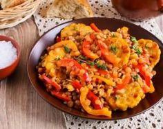 Curry de lentilles corail Croq'Kilos aux poivrons…