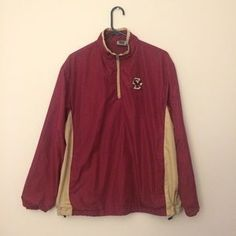 I just discovered this while shopping on Poshmark: Boston College WindBreaker. Check it out! Price: $35 Size: M