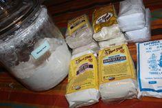 Homemade Gluten Free Flour Blend | Small Town Living in Nevada