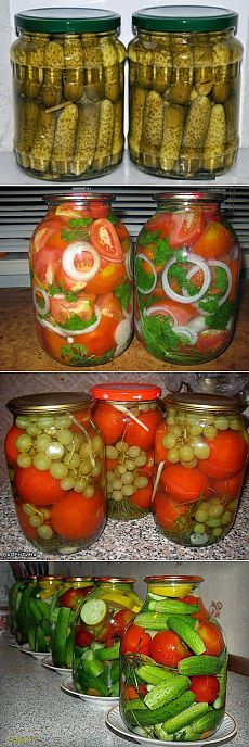 Recipes for all: Preparations for the winter Georgian Food, Russian Recipes, Food Design, Design Design, Canning Recipes, I Love Food, Family Meals, Food To Make, Vegetarian Recipes