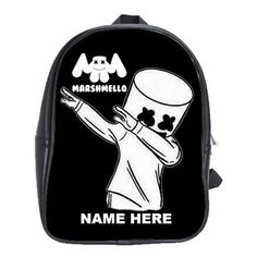 FORTNITE MARSHMELLO EVENT LEATHER XL BACKPACK Marshmello Alone, Dj Marshmello, Battle Royale, Game R, Cool Backpacks, Feeling Special, First Day Of School, One Pic, Gifts For Kids