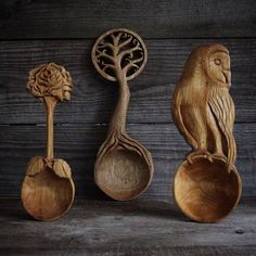 Quite a difference from the wooden spoons I was whacked with as a kid! LOL!
