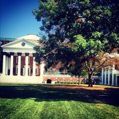 #UVa #Lawn #Rotunda