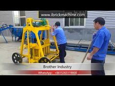 egg laying brick making machine is a small mobile concrete block machine. also called egg laying block making machine, this machine doesn't need any pa. How To Lay Concrete, Concrete Cement, Concrete Blocks, Laying Concrete, Making Machine, Machine Design, Brick, Egg, Ghana