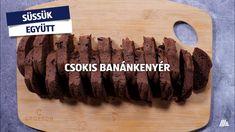 Csokis banánkenyér: süssük együtt! #aldi #recept #banánkenyér Bamboo Cutting Board, Ale, Ale Beer, Ales, Beer