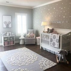 DIY nursery and also baby room decorating! Suggestions for you to develop a little paradise in the world for your little package. Lots of baby room decor suggestions! Baby Nursery Decor, Baby Bedroom, Baby Boy Rooms, Baby Boy Nurseries, Baby Cribs, Baby Decor, Baby Room Ideas For Girls, Elephant Nursery Decor, Nursery Room Ideas
