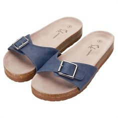 Sole Sensations Brielle Buckled Mules £14.95 (regular price £19.95)