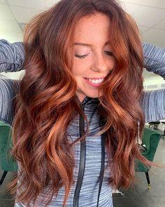 Dark Auburn Hair, Red Brown Hair, Long Red Hair, Hair Color Auburn, Hair Color Highlights, Summer Highlights, Auburn Red, Two Color Hair, Ginger Hair Color