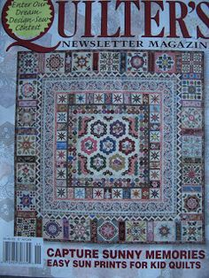 Glorious Applique blog: Turkish Tiles by Kim McLean - center is same as Brinton Hall in Quiltmania 2015