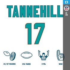 """""""#RT17 #StrongerTogether  #Repost from @nfl Have a day, Ryan Tannehill!"""""""