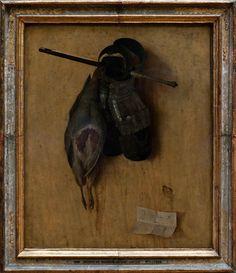 Якопо де Барбари, «Натюрморт с ружьём и железными перчатками», 1504