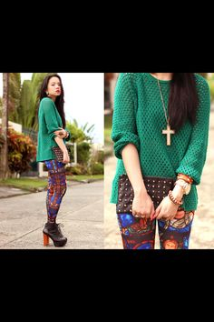 Outfit -  green