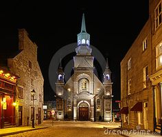 Church in old Montreal, Quebec, Canada by Hartemink, via Dreamstime
